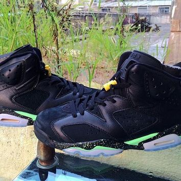 free shipping air jordan 6 retro brazil pack 688446 020 basketball sneaker