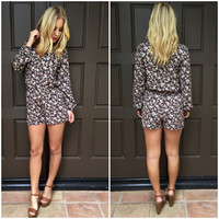 Kissed By A Rose Romper
