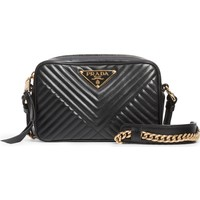 Prada Small Quilted Leather Camera Bag | Nordstrom
