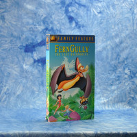 Vintage VHS Tape FernGully The Last Rainforest Family Feature 1992 - Robin Williams - Sheena Easton