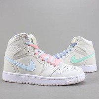 Trendsetter Air Jordan 1 X Off White Nrg  Women Men Fashion Casual  Old Skool  High-Top Shoes
