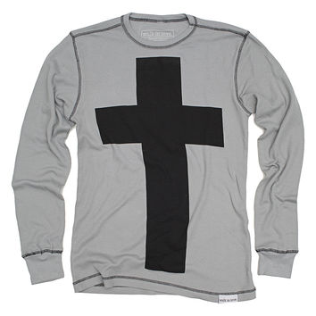 Cross Gray Thermal Long Sleeve