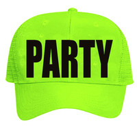 Party Neon Hat