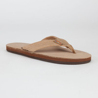Rainbow Leather Womens Sandals Sierra Brown  In Sizes