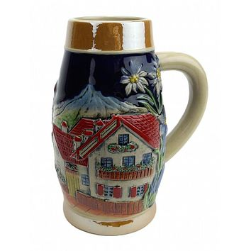 Germany Alpine Beer Stein without Lid