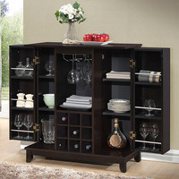 Baxton Studio Derremer Dark Brown Bar Cabinet | zulily