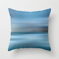 where mermaids live #3 Throw Pillow by Steffi by findsFUNDSTUECKE