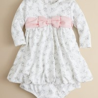 Little Me Infant Girls' Belle Bow Dress - Sizes 3-9 Months | Bloomingdale's