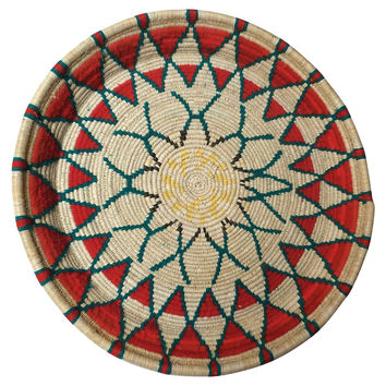 Hand-Woven Moroccan Tray