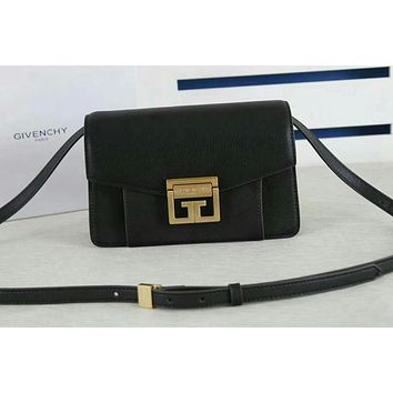 GIVENCHY WOMEN'S LEATHER INCLINED SHOULDER BAG