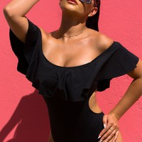 Haute & Ready Swimsuit - Black
