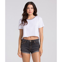 HIGHSIDE DENIM SHORTS