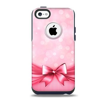 The Magical Pink Bow Skin for the iPhone 5c OtterBox Commuter Case
