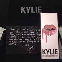 Kylie Jenner lip kit candy K