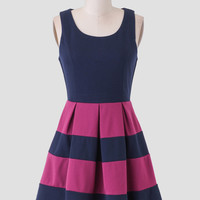 Live In Color Striped Dress