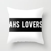 American Horror Story Throw Pillow by NameGame