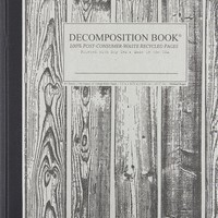 Beachwood Decomposition Book: College-ruled Composition Notebook With 100% Post-consumer-waste Recycled Pages