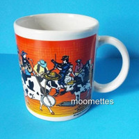 Cowtown Coffee Mug Bluegrass Band Pastoral Orchestra Moosical Cows Cup 2003