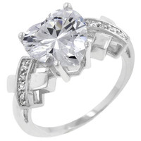 Queen Of Hearts Ring, size : 07