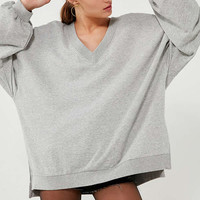 BDG Oversized V-Neck Pullover Top | Urban Outfitters
