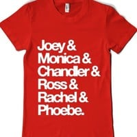 Red T-Shirt | Cool Tv Shows 90s Shirts