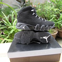 Air Jordan 9 Retro AJ9 Black Sneaker Shoe