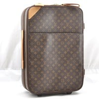 Authentic Louis Vuitton Monogram Pegase 55 Travel Carry bag M23294 LV 53464