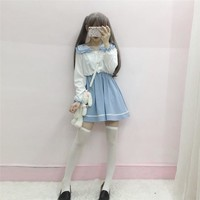 Lolita Sailor Color Dress