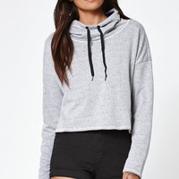 Hurley Dri-FIT Crop Cowl Neck Pullover Hoodie at PacSun.com