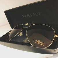 Eudoragift Versace Men Women Casual Summer Sun Shades Eyeglasses Glasses Sunglasses 003