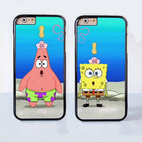 Spongebob and Patrick Couple Case for Apple iPhone 6 Plus 4 4s 5 5s 5c 6