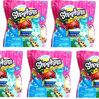 Shopkins - Season 1 - Pack of 5 blind bags - 5 Shopkins and 5 Shopping bags!