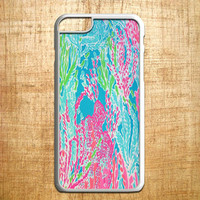 lily pulitzer seaweed for iphone 4/4s/5/5s/5c/6/6+, Samsung S3/S4/S5/S6, iPad 2/3/4/Air/Mini, iPod 4/5, Samsung Note 3/4, HTC One, Nexus Case *AP*