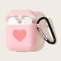 Heart Pattern Airpods Box Protector