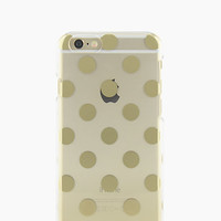 Kate Spade Le Pavillion Clear Iphone 6 Plus Case Clear/Gold ONE