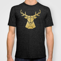 Geometry of a Deer T-shirt by Nick Nelson | Society6