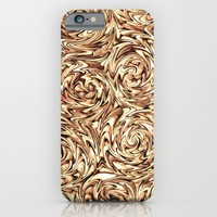 Liquid Gold - for iphone iPhone & iPod Case by Simone Morana Cyla