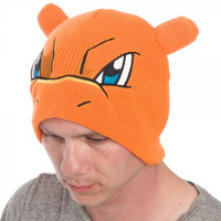 Pokemon Charizard Bigface Beanie