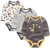Baby Clothing born jumpsuits Baby Boy Girl Romper Long Sleeve Infant Clothes O-neck Product