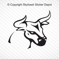 Bull Tribal Tattoo Sticker Vinyl Decal Car Truck SUV Motorcycle Sticker Laptop