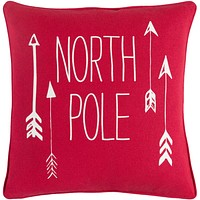 Holiday Pillow Kit - Bright Red, White - Poly - HOLI7267