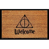 Harry Potter Inspired Welcome Doormat