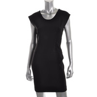 French Connection Womens Monique Seamed Sleeveless Cocktail Dress