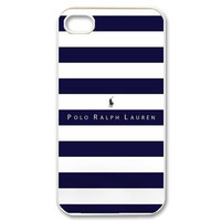 Fashion Simple Brand POLO Plaid Shirt Pattern Case Cover For iPhone 4/4s/5/5s/5c/6/6plus