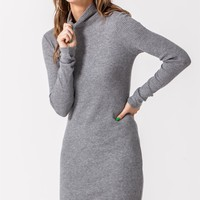No Hesitations Dress - Heather Grey