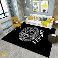 Louis Vuitton LV Versace YSL Saint Laurent carpet living room coffee table blanket Nordic style bedroom bedside blanket clothing store fitting room photo carpet