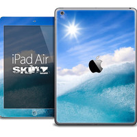 The Sunny Day Waves Skin for the iPad Air, iPad Mini, iPad 1st, 2nd, 3rd or 4th Generation