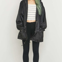 Urban Renewal Vintage Surplus Black Anorak - Urban Outfitters