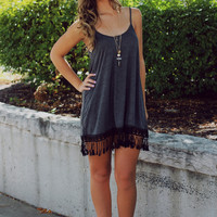 Talk Fringe To Me Dress