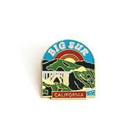 Big Sur Enamel Pin